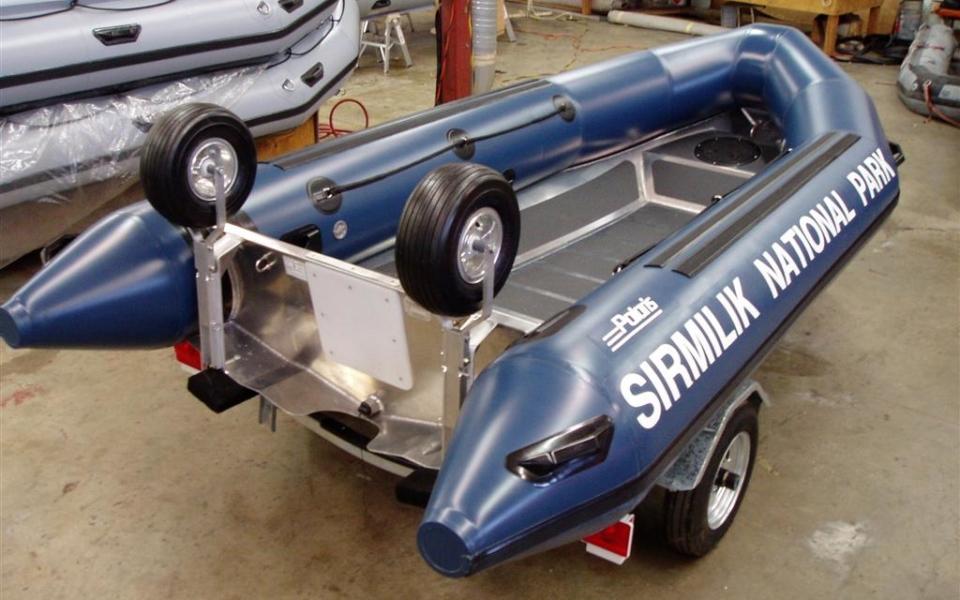 Custom Aluminum & Inflatable Boats in Canada   Polaris